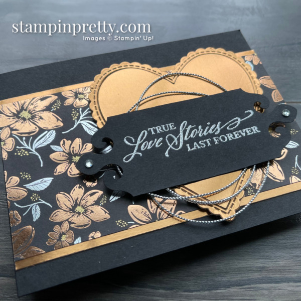 SNEAK PEEK! Simply Elegant Suite Collection from Stampin' Up! Available May 4, 2021 Love Card by Mary Fish, Stampin' Pretty