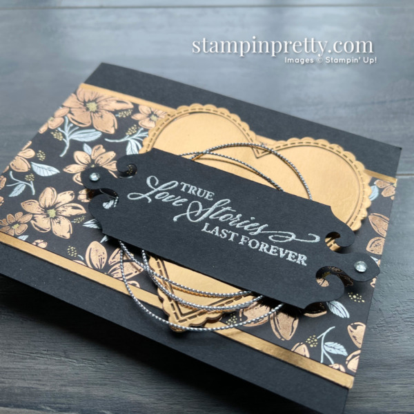 SNEAK PEEK! Simply Elegant Suite Collection from Stampin' Up! Available May 4, 2021 Wedding Card by Mary Fish, Stampin' Pretty