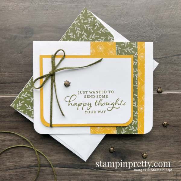 Stampin' Up! Dandy Garden Suite Collection - Birthday Card by Mary Fish, Stampin' Pretty