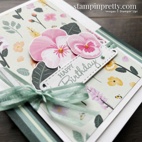 Stampin' Up! Pansy Petals Suite Sneak Peek! Mary Fish, Stampin' Pretty - Available May 4, 2021