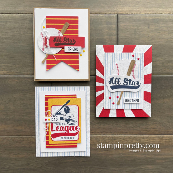 Batter Up May 2021 Paper Pumpkin Alternates by Mary Fish, Stampin' Pretty