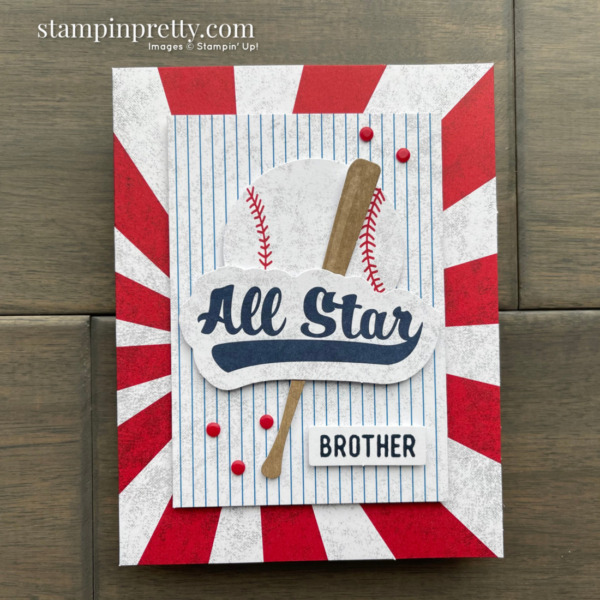 Batter Up May 2021 Paper Pumpkin Alternates by Mary Fish, Stampin' Pretty ALT 2