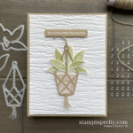 Create this card using the Plentiful Plants Bundle & Through it Together Stamp Set from Stampin