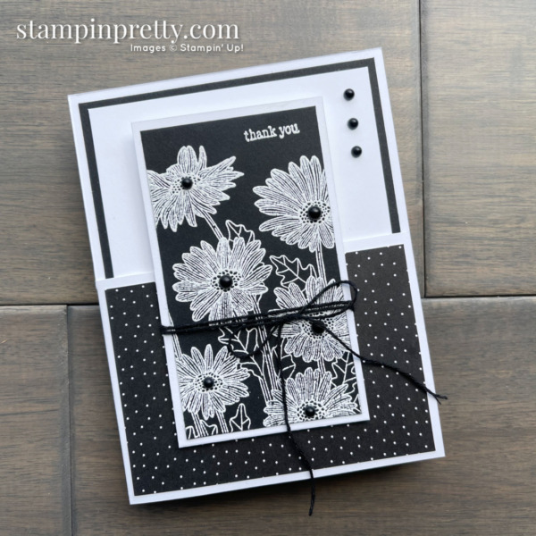 Daisy Garden and NEW Through It Together Stamp Set by Stampin' Up! Dutch Door Fun Fold by Mary Fish, Stampin' Pretty