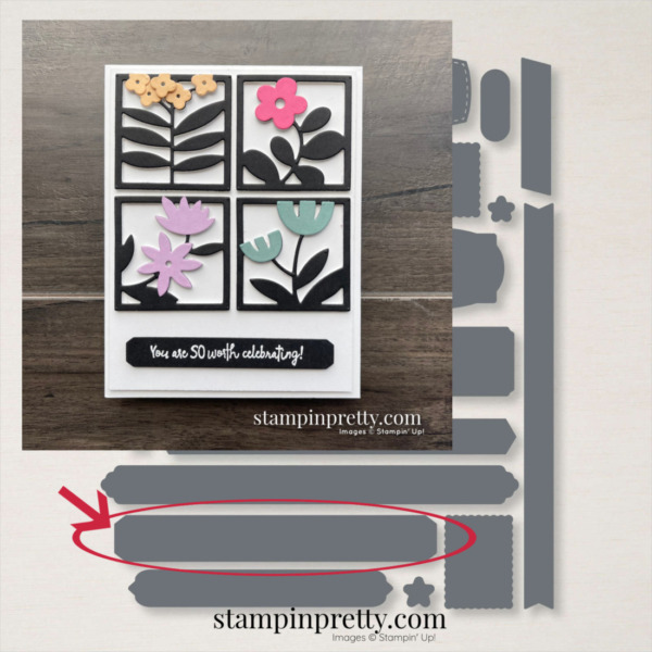 Messages Dies by Stampin' Up! 154422