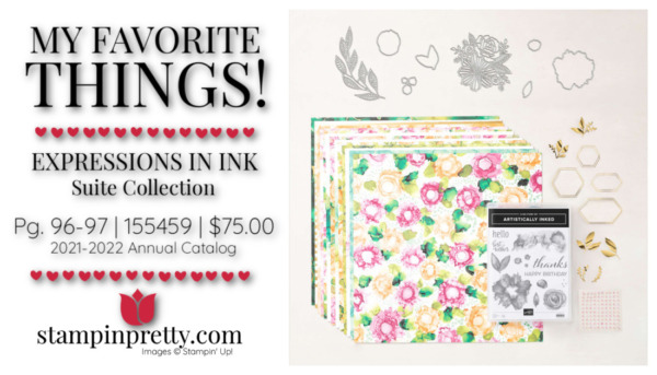My Favorite Things Mary Fish Stampin' Pretty Stampin' Up! EXPRESSIONS IN INK Suite 155459 $75.00