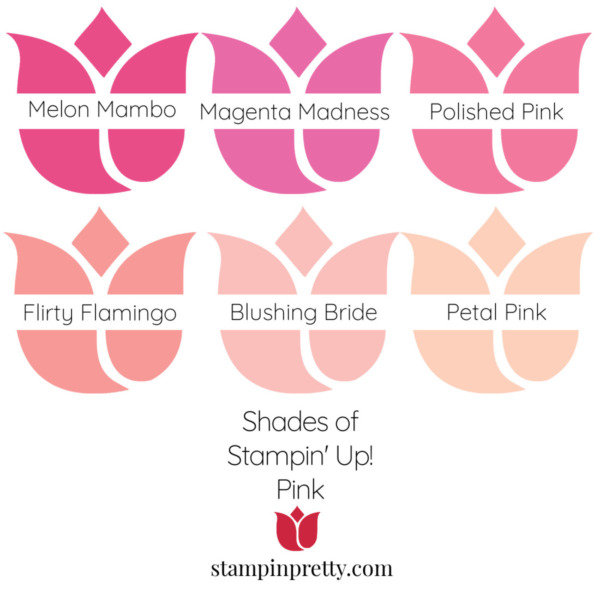 Shades of Stampin' Up! Pink Stampin' Pretty, Mary Fish Tulips