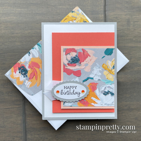 Oval Occasions Bundle by Stampin' Up! Card by Mary Fish, Stampin' Pretty