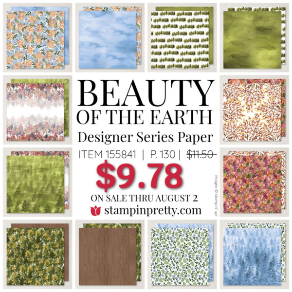 Beauty of the Earth DSP Mary Fish Stampin' Pretty