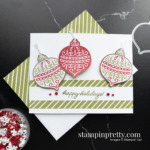 Gingerbread & Peppermint Suite Collection from Stampin