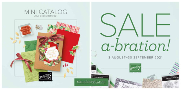 New Stampin' Up! July - December Mini and August - September SAB