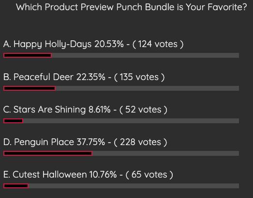 Punch Bundle Stampin' Pretty Fun Poll Results