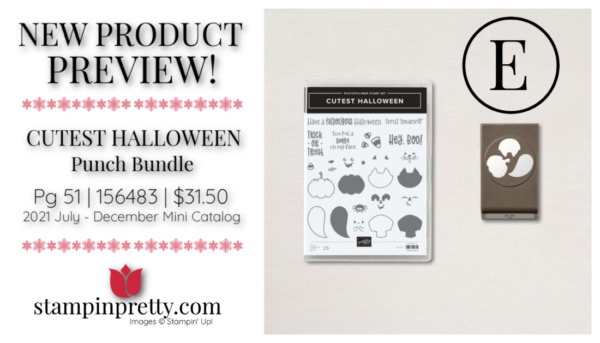 Stampin' Up! CUTEST HALLOWEEN Punch Bundle Mary Fish, Stampin' Pretty