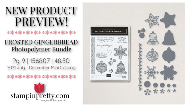 Stampin' Up! Frosted Gingerbread Bundle 156807 Page 9 Mary Fish, Stampin' Pretty