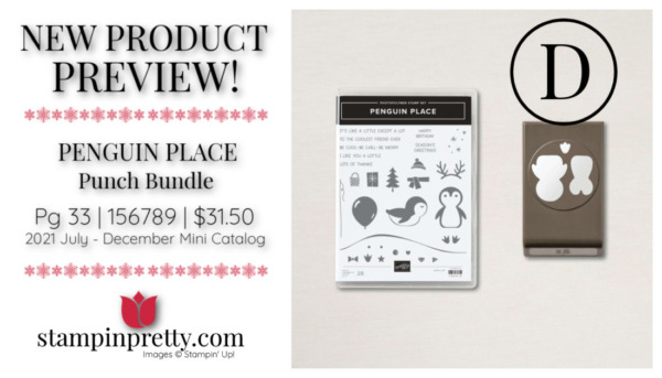 Stampin' Up! PENGUIN PLACE Punch Bundle Mary Fish, Stampin' Pretty