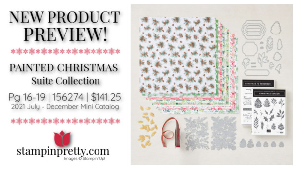 Stampin' Up! Painted Christmas Suite Collection Page 16-19 Mary Fish, Stampin' Pretty