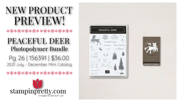 Stampin' Up! Peaceful Deer Punch Bundle Page 26 Mary Fish, Stampin' Pretty