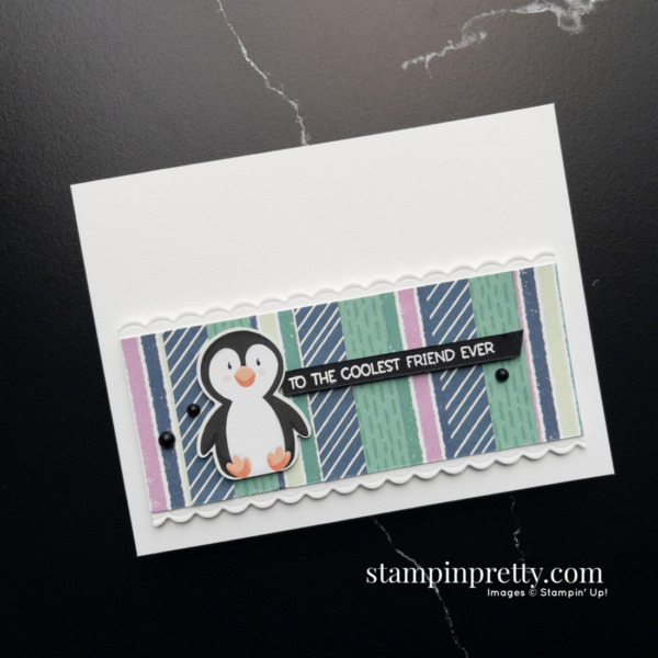 Stampin' Up! Penguin Place Bundle Product Preview Card by Mary Fish, Stampin' Pretty Tulips Rewards