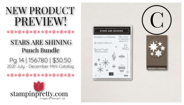 Stampin' Up! STARS ARE SHINING Punch Bundle Mary Fish, Stampin' Pretty
