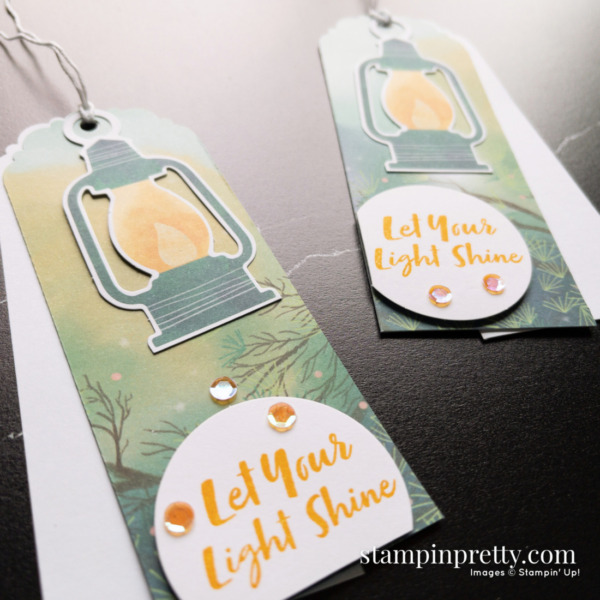 The Adventure Begins July 2021 Paper Pumpkin Alternate #2 Gift Tags Mary Fish, Stampin' Pretty
