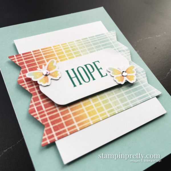 August 2021 Paper Pumpkin Alternate #1 Hope Box Mary Fish Stampin' Pretty