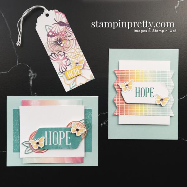 August 2021 Paper Pumpkin Alternates Hope Box Mary Fish Stampin' Pretty