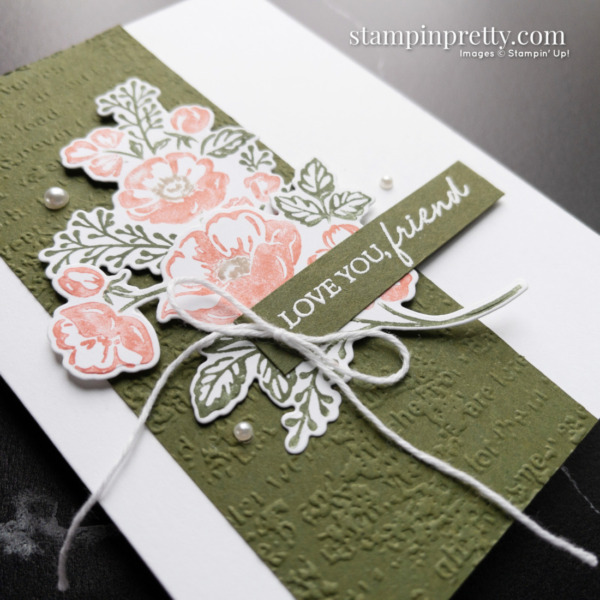 Create this card using the Shaded Summer Stamp Set, Summer Shadows Dies from Stampin' Up! Card by Mary Fish, Stampin' Pretty