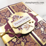 Create this here for you card using the Blackberry Beauty Suite Collection from Stampin