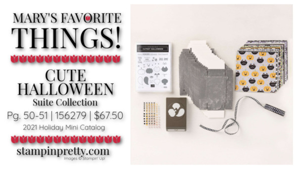 My Favorite Things Mary Fish Stampin' Pretty Stampin' Up! Cute Halloween Suite Collection 156279 $67.50