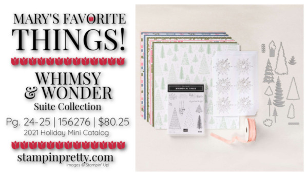My Favorite Things Mary Fish Stampin' Pretty Stampin' Up! Whimsy & Wonder Suite Collection 156276 $80.25