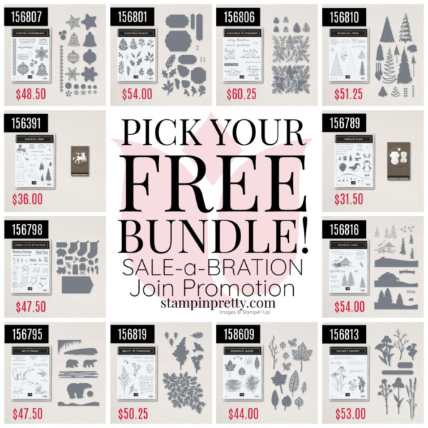 Sale-a-Bration Join Promotion Mary