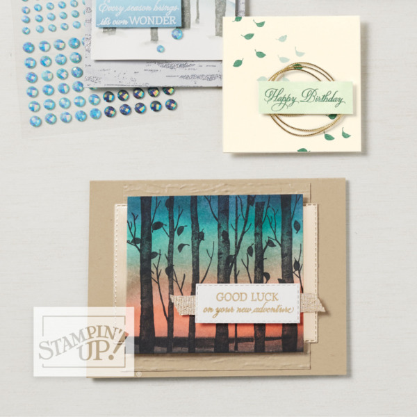Welcoming Woods Stamp Set by Stampin' Up! Catalog Sample Page 46