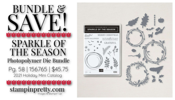 Bundle & Save 10% - Sparkle of the Season Bundle by Stampin' Up! Shop Online 24-7 with Mary Fish, Stampin' Pretty