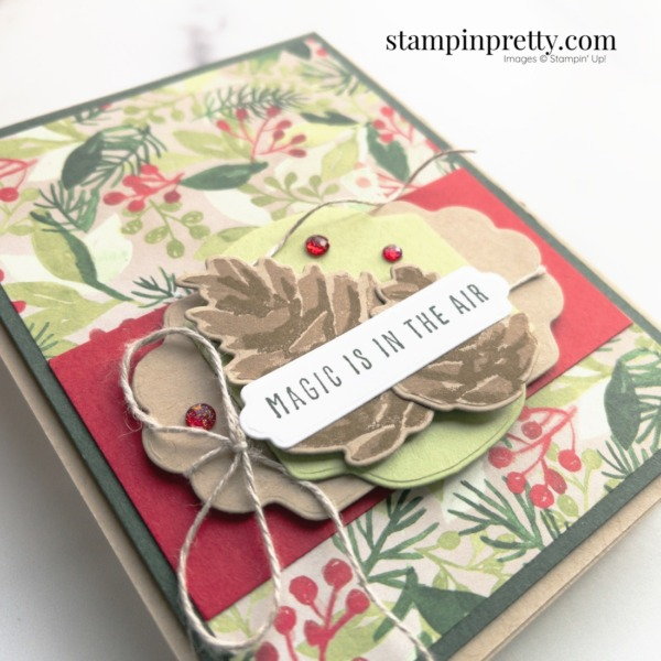 Create a holiday card using the Painted Season Suite by Stampin' Up! Card by Mary Fish Stampin' Pretty