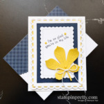 Create this card using the Love of Leaves Stamp Set and Stitched Leaves Dies by Stampin