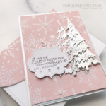 Create this card using the Whimsy & Wonder Suite Collection. Holiday Card by Mary Fish. Stampin