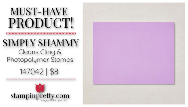 Mary Fish Stampin' Pretty Stampin' Up! Must-Have Simply Shammy