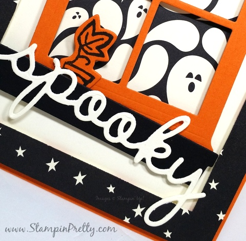 stampin up halloween card idea