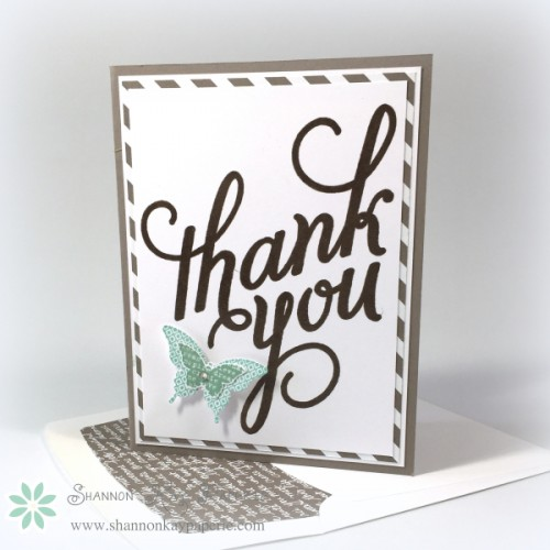 Pals Paper Crafting Picks of the Week Another Thank You Mary Fish Stampin Pretty StampinUp