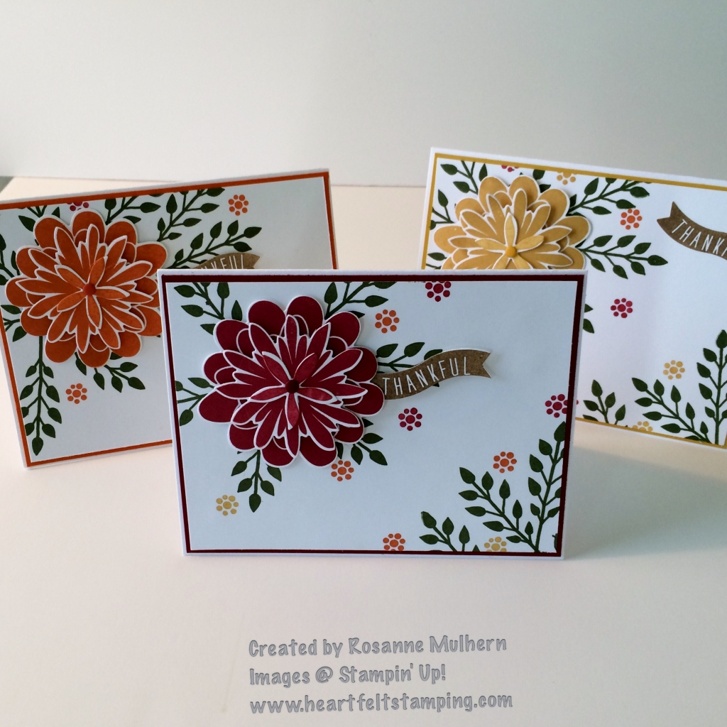 Card Making Ideas Stampin Up Part - 24: Pals Paper Crafting Card Ideas Flower Patch Mary Fish Stampin Pretty  StampinUp
