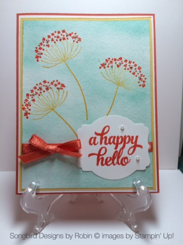 Pals Paper Crafting Card Ideas Happy Hello Mary Fish Stampin Pretty StampinUp