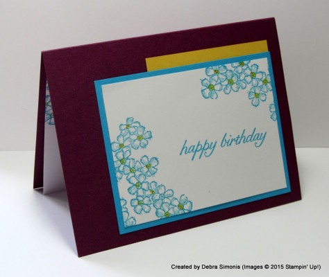 Pals Paper Crafting Picks of the Week Birthday Blossoms Mary Fish Stampin Pretty StampinUp
