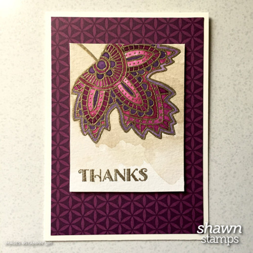 Pals Paper Crafting Picks of the Week Lighthearted Leaves Mary Fish Stampin Pretty StampinUp