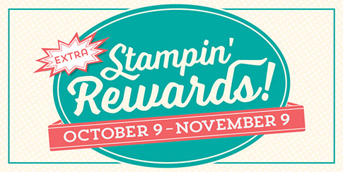 Stampin Up Stampin Rewards Hostess Rewards