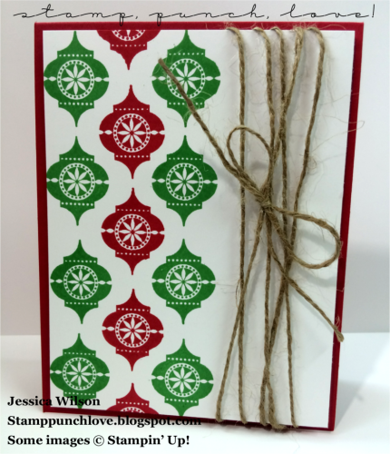 Pals Paper Crafting Card Ideas Very Merry Tags Mary Fish Stampin Pretty StampinUp