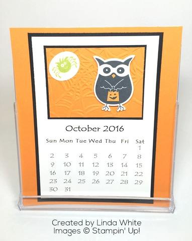 October CD Calendar