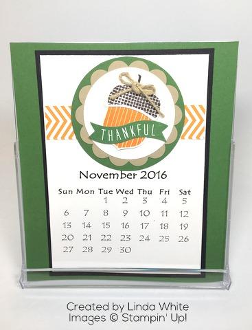 November CD Calendar