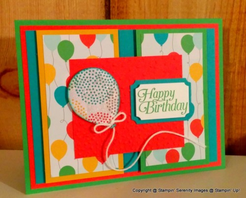 Pals Paper Crafting Card Ideas Cherry on Top Card Mary Fish Stampin Pretty