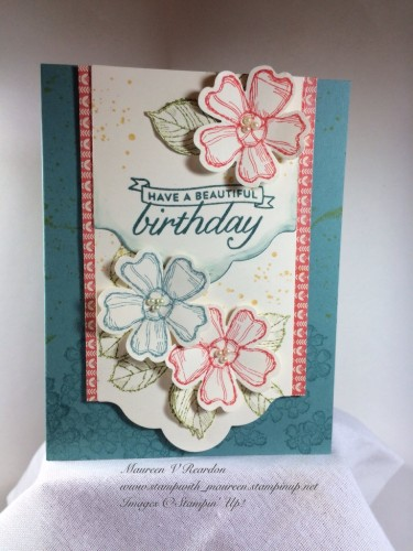 Pals Paper Crafting Card Ideas Gorgeous Grunge Mary Fish Stampin Pretty StampinUp