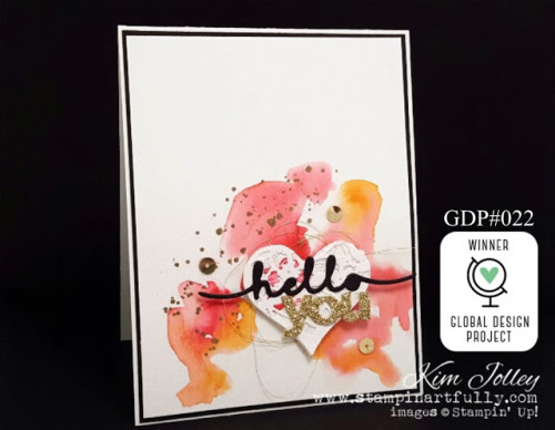 Pals Paper Crafting Card Ideas Hello You Mary Fish Stampin Pretty StampinUp